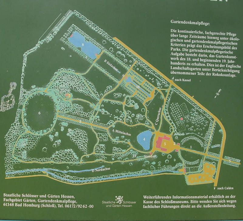 Schlosspark Schloss Wilhelmsthal